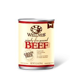 Wellness Wellness 95% Beef Grain-Free Canned Dog Food 13.2-oz Can