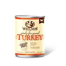Wellness Wellness 95% Turkey Grain-Free Canned Dog Food 13.2-oz Can