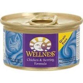 Wellness Cat Chicken & Herring Grain-Free Canned Food