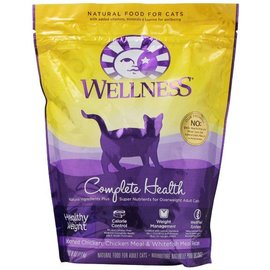 Wellness Wellness Cat Complete Health Healthy Weight Deboned Chicke, Chicken Meal, & Whitefish Dry Food 5lb