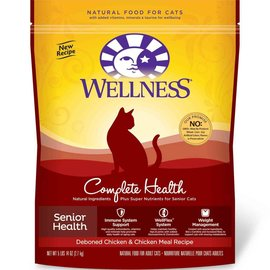 Wellness Wellness Cat Complete Health Senior Deboned Chicken & Chicken Meal Dry Food 5.875-lb Bag