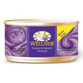 Wellness Cat Turkey & Salmon Grain-Free Canned Food