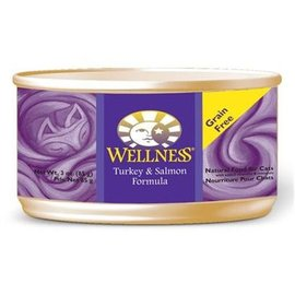 Wellness Wellness Cat Turkey & Salmon Grain-Free Canned Food