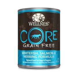 Wellness Wellness Core Whitefish, Salmon & Herring Grain-Free Canned Dog Food 12.5-oz Can