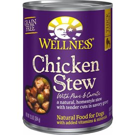 Wellness Wellness Chicken Stew with Peas & Carrots Grain-Free Canned Dog Food 12.5-oz Can