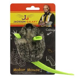 Petmate Petmate Jackson Galaxy Motor Mouse with Catnip Cat Toy
