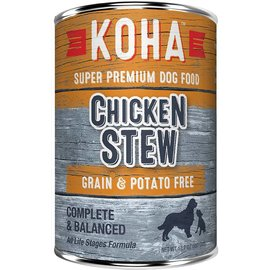 Koha Koha Chicken Stew Grain-Free Canned Dog Food, 12.7-oz Can