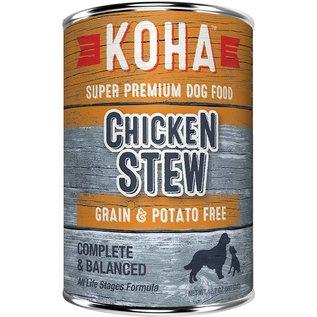 Koha Chicken Stew Grain-Free Canned Dog Food, 12.7-oz Can