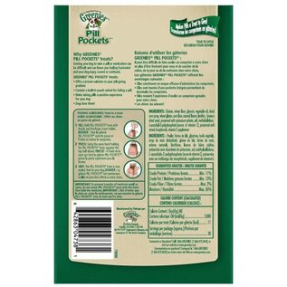 Greenies Greenies Dog Pill Pockets Chicken for Tablets 3.2-oz Bag