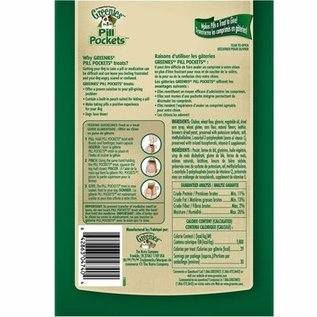 Greenies Greenies Dog Pill Pockets Chicken for Capsules 7.9-oz Bag