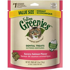 Greenies Greenies Feline Dental Treats Salmon 5.5-oz Bag