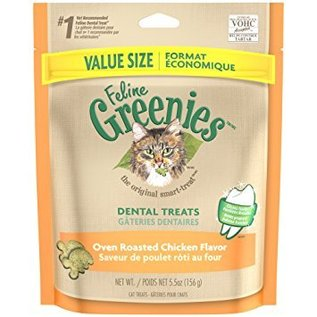 Greenies Greenies Feline Dental Treats Chicken 5.5-oz Bag