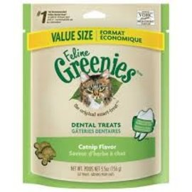 Greenies Greenies Feline Dental Catnip Flavor 5.5-oz Bag
