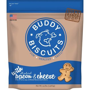 Cloud Star Cloud Star Buddy Biscuits Bacon & Cheese Flavor Dog Treats