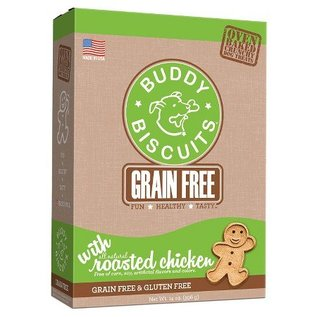 Cloud Star Cloud Star Buddy Biscuits Grain-Free Chicken Dog Treats 14-oz Box