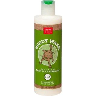 Cloud Star Cloud Star Buddy Wash Green Tea & Bergamot 2-In-1 Shampoo & Conditioner 16-oz Bottle