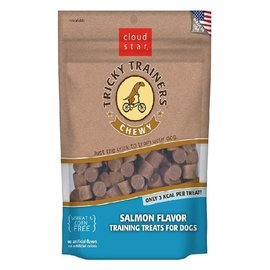 Cloud Star Cloud Star Chewy Tricky Trainer Salmon Dog Treats