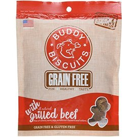 Cloud Star Buddy Biscuits Grilled Beef Grain-Free Soft Dog Treats 5-Oz Bag