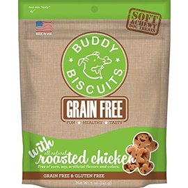 Cloud Star Roasted Chicken Grain-Free Soft Dog Treats 5-Oz Bag