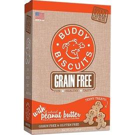 Cloud Star Buddy Biscuits Teeny Treats Peanut Butter Grain-Free Dog Treats 7-Oz Box