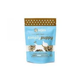 Sojos Simply Puppy Turkey & Salmon Freeze-Dried Dog Treats 2.5-oz Bag