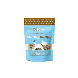 Sojos Sojos Simply Puppy Turkey & Salmon Freeze-Dried Dog Treats 2.5-oz Bag