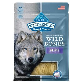 Blue Buffalo Blue Buffalo Wilderness Wild Bones Grain-Free Dog Dental Treat 10-Oz