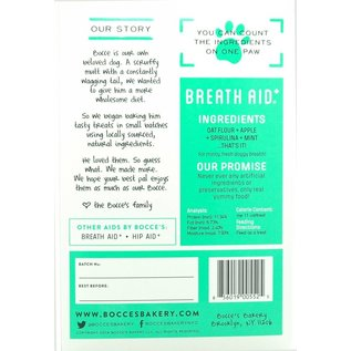 Bocce's Bakery Bocce's Bakery Breath Aid Apple Dog Treats 12-oz Box