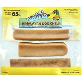 Himalayan Himalayan Dog Chew Treat Mixed Sizes 10.5-oz, 3 pieces (Under 65lbs)