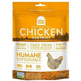 Open Farm Chicken Grain-Free Dehydrated Dog Treats 4.5-Oz Bag