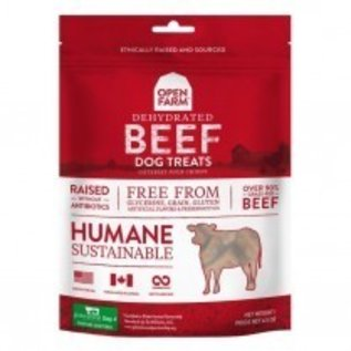 Open Farms Open Farm Beef Grain-Free Dehydrated Dog Treats 4.5-Oz Bag