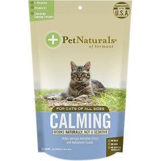 Pet Naturals of Vermont Calming Chews for Cats 30-Count Bag