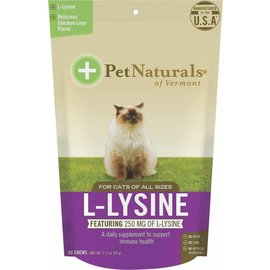 Pet Naturals of Vermont L-Lysine Cat Treats 60-Count Bag