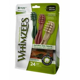 Whimzees Toothbrush Dental Grain-Free Dog Treats 12.7-Oz Bag