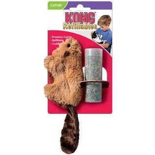 Kong Kong Beaver Refillable Catnip Cat Toy