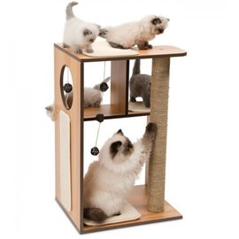 Vesper Vesper V-Box Large Walnut Cat Furniture