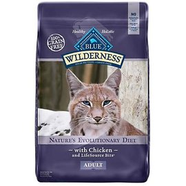 Blue Buffalo Blue Buffalo Wilderness Grain-Free Chicken Dry Cat Food 6-Lb Bag