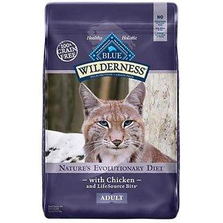 Blue Buffalo Blue Buffalo Wilderness Grain-Free Chicken Dry Cat Food 6-Lb Bag