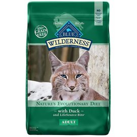 Blue Buffalo Blue Buffalo Wilderness Grain-Free Duck Dry Cat Food 6-Lb Bag