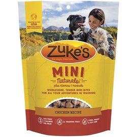 Zuke's Zuke's Mini Naturals Roasted Chicken Dog Treats, 6-oz Bag