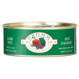 Fromm Pet Foods Fromm Lamb Pate Canned Cat Food, 5.5-oz Can