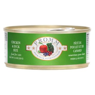 Fromm Pet Foods Fromm Chicken and Duck Pate Canned Cat Food, 5.5-oz Can