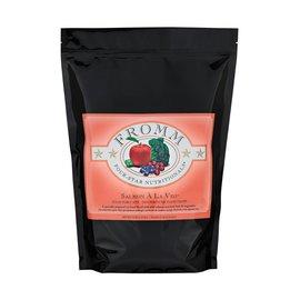Fromm Pet Foods Fromm Four-Star Salmon A La Veg Dry Cat Food, 5-lb Bag