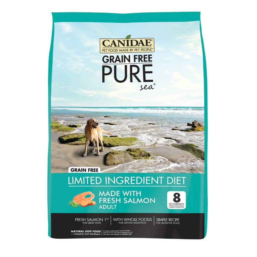 Canidae Canidae Pure Sea Salmon Grain-Free Dry Dog Food ...