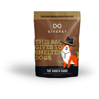 GivePet GivePet The Ranch Hand Grain-Free Dog Treat 12oz
