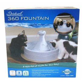 Pet Safe Petsafe Drinkwell 360 Plastic Pet Fountain