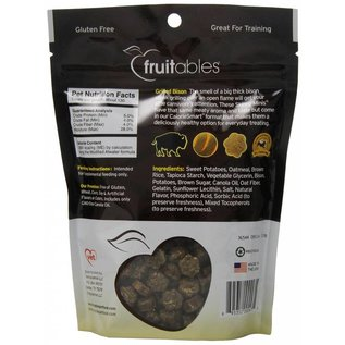 Fruitables Fruitables Skinny Mini Bison Soft & Chewy Dog Treat 5oz