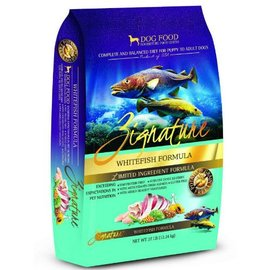 Zignature Zignature Whitefish Limited Ingredient Dry Dog Food