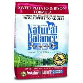 Natural Balance Limited Ingredient Sweet Potato & Bison Grain-Free Dry Dog Food