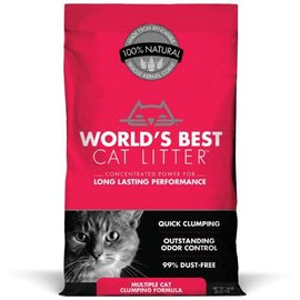 World's Best Cat Litter World's Best Multiple Cat Clumping Cat Litter